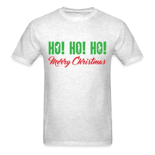 Ho! Ho! Ho! Merry Christmas - Men's T-Shirt
