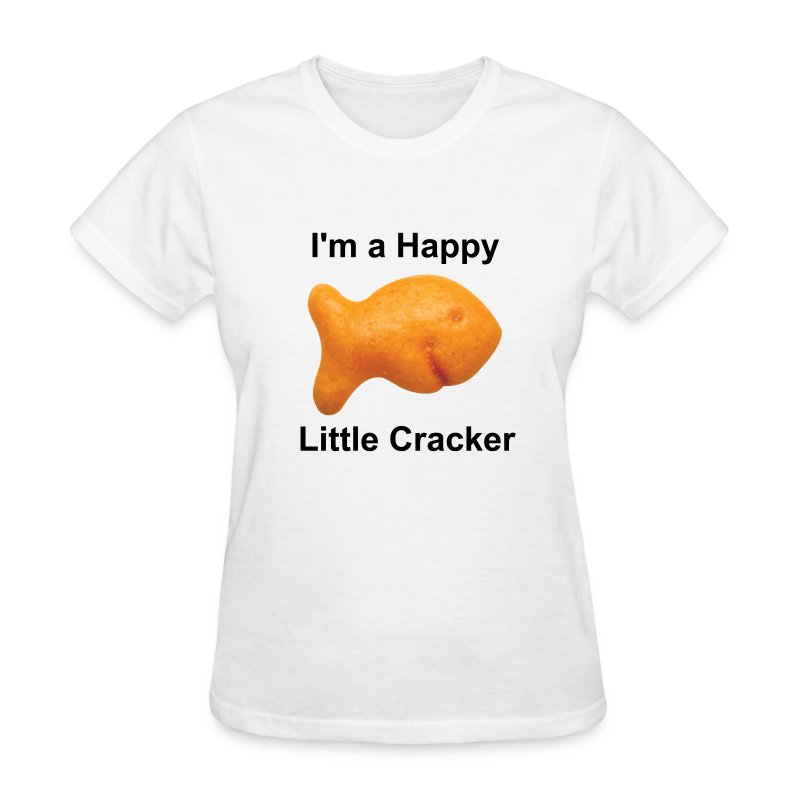 Women's - I'm a Happy Little Cracker - Women's T-Shirt
