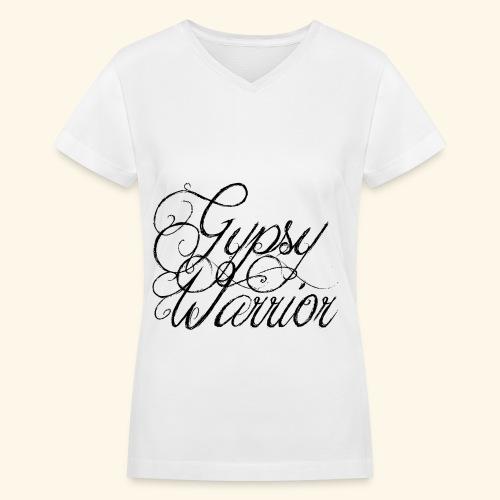 Gypsy Warrior - Women's V-Neck T-Shirt