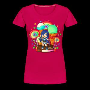 Women's Premium T-Shirt   CANDYLAND - Women's Premium T-Shirt