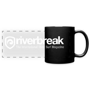 Full Color Panoramic Mug - Get your daily dose of river surfing awesomeness!