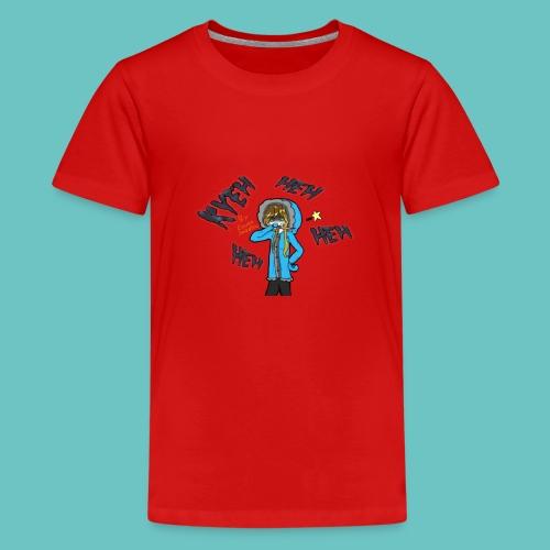 Merry Murder Christmas Frozencat3030 Kid's T-shirt (Small Design) - Kids' Premium T-Shirt