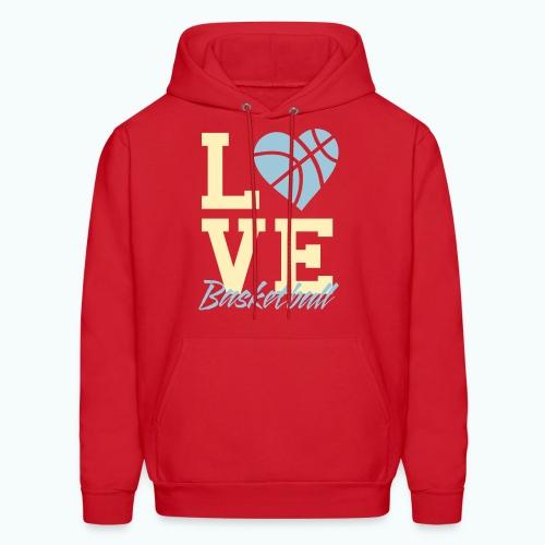 Love Basketball - Men's Hoodie