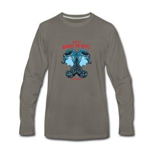 Gemini Sun Men's Premium Long Sleeve T-Shirt - Men's Premium Long Sleeve T-Shirt