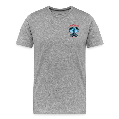 Gemini Sun Men's Premium T-Shirt - Men's Premium T-Shirt