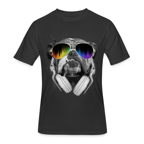 Cool Bulldog Shirt - Men's 50/50 T-Shirt