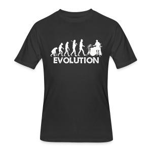 Drummer Evolution - Men's 50/50 T-Shirt