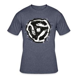 DJ Retro 45 Adaptor Shirt - Men's 50/50 T-Shirt