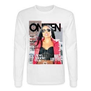 ONETEN Magazine Cover Ann Marie Fox Tee Long Sleeve Tee - Men's Long Sleeve T-Shirt