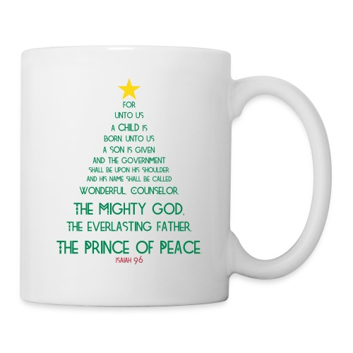 Isaiah 9:6 Coffee/Tea mug (multi) - Coffee/Tea Mug