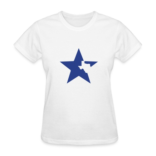Team Texas t-shirt (women) - white, blue, and red - Women's T-Shirt