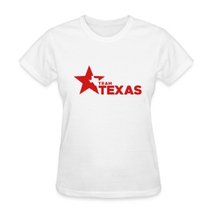 Team Texas t-shirt (women) - white and red - Women's T-Shirt