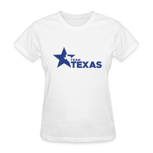 Team Texas t-shirt (women) - white and blue - Women's T-Shirt