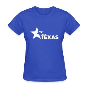 Team Texas t-shirt (women) - blue and white - Women's T-Shirt