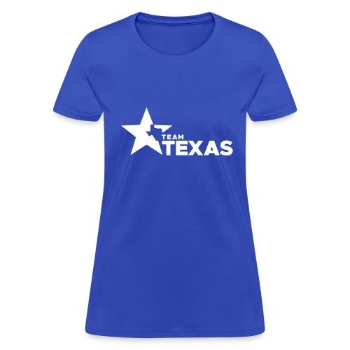 Team Texas t-shirt (women) - blue and white - Women's T-Shirt