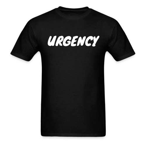 Men's Urgency Sketch - Men's T-Shirt
