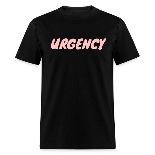 Men's Urgency Sketch Pink - Men's T-Shirt