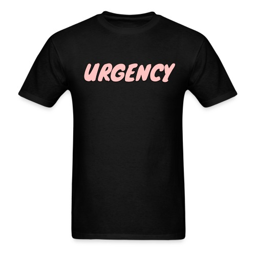 Men's Urgency Sketch Pink - Men's T-Shirt
