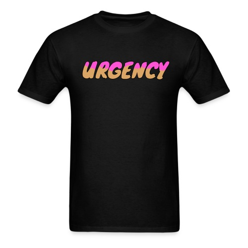 Men's Urgency Doughnut - Men's T-Shirt