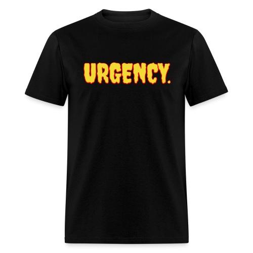 Men's Urgency Lava - Men's T-Shirt