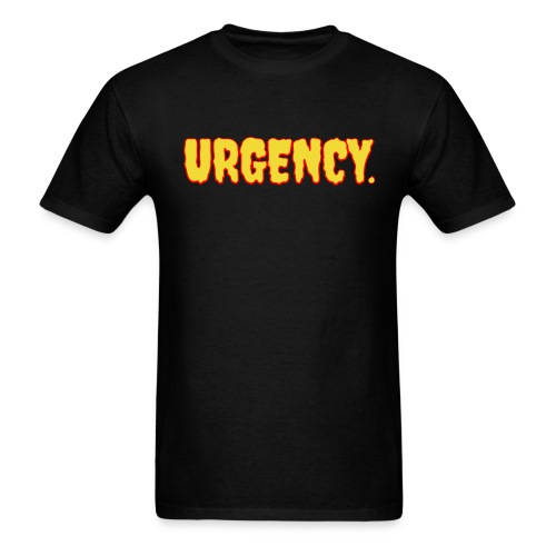 Men's Urgency Lava - Men's T-Shirt