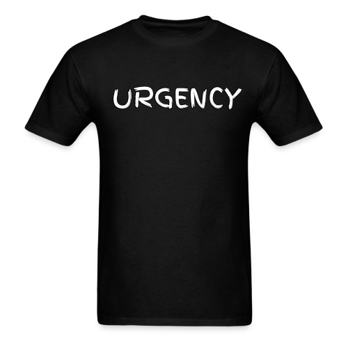 Men's Urgency Scribble - Men's T-Shirt