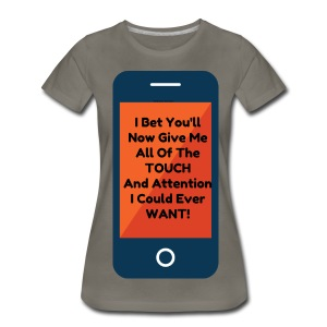 FOR THE LOVE OF SMART PHONES - Women's Premium T-Shirt