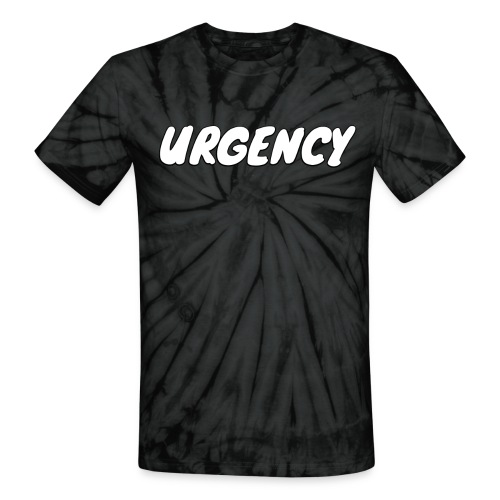 Men's Urgency Sketch - Unisex Tie Dye T-Shirt