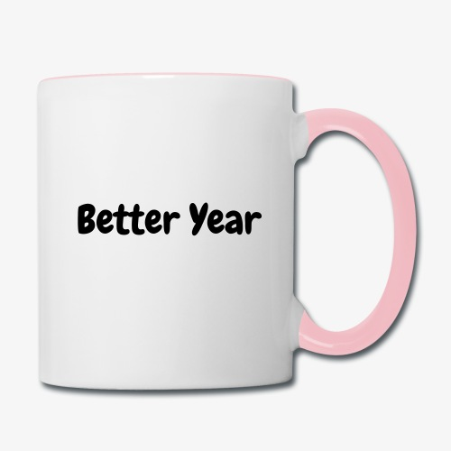 Better Year , Better Me  - Contrast Coffee Mug