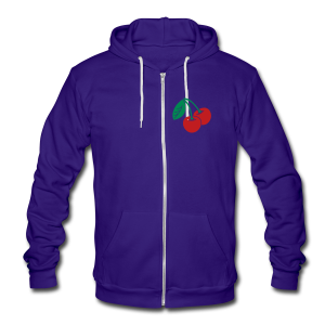 Cherry - Unisex Fleece Zip Hoodie