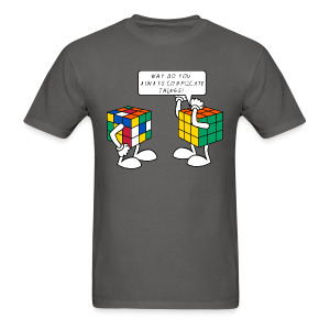 Rubik's Cube Complicate Things - Men's T-Shirt