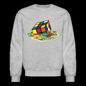 Rubik's Cube Melting Cube - Crewneck Sweatshirt