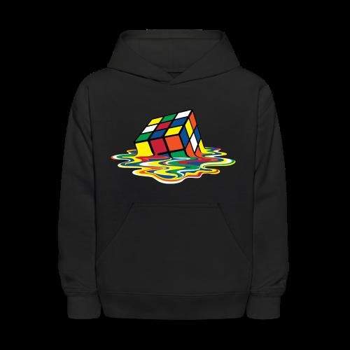 Rubik's Cube Melting Cube - Kids' Hoodie