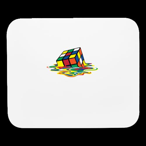 Rubik's Cube Melting Cube - Mouse pad Horizontal