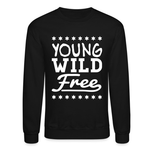 Crewneck Sweatshirt - Endless Summer's India Free brings you her Live Free Collection