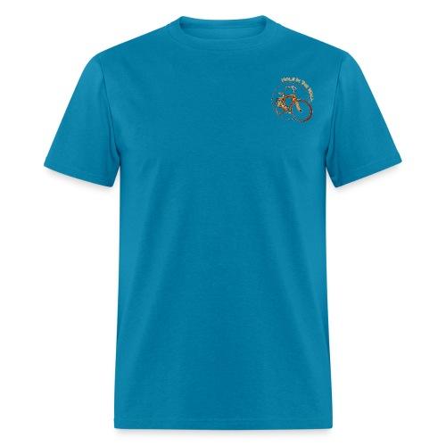 Classic orange bike - Men's T-Shirt