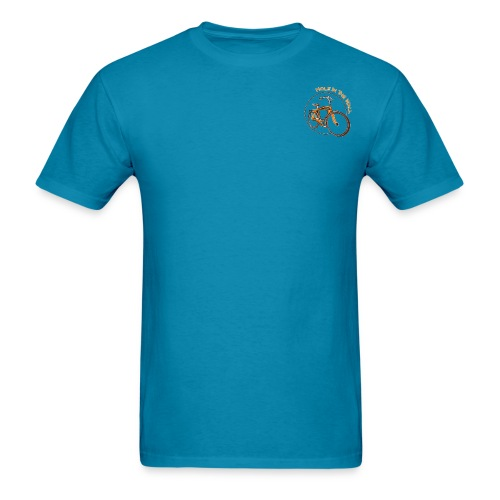 Classic orange bike - Men's T-Shirt