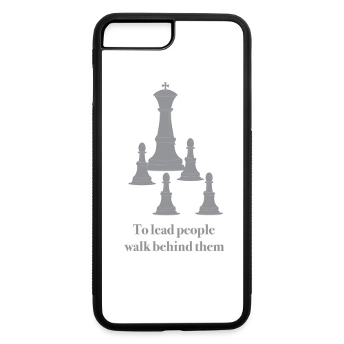 BestSub - Iphone 7 Plus Rubber Case - To lead people walk behind them. - iPhone 7 Plus/8 Plus Rubber Case