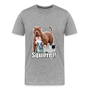 Squirrel posse 1 - Men's Premium T-Shirt