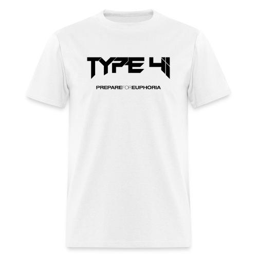Type 41 Logo Shirt Men's White - Men's T-Shirt