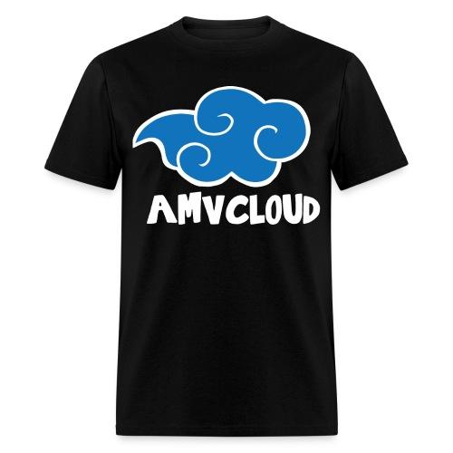 AmvCloud logo + Blue Cloud Men's T-shirt - Men's T-Shirt