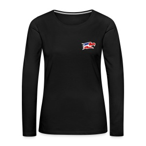 Screaming Eagles Women's Athletic Long Sleeve - Women's Premium Long Sleeve T-Shirt