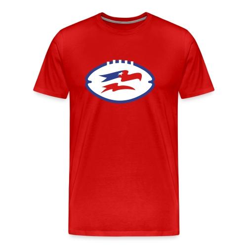 Screaming Eagles Logo in Ball Tee - Men's Premium T-Shirt