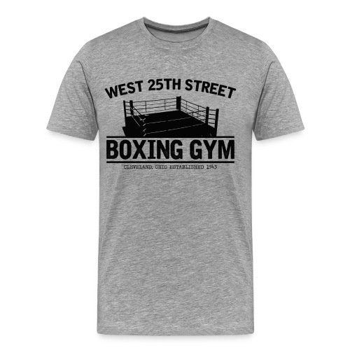 W.25th St Boxing Gym Tee - Men's Premium T-Shirt