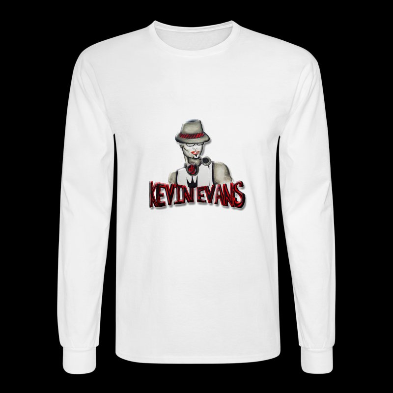 DJ Kevin Evans Logo 2 - Men's Long Sleeve T-Shirt