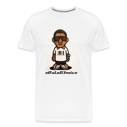 sOuLaD3mics Portrait - Men's Premium T-Shirt