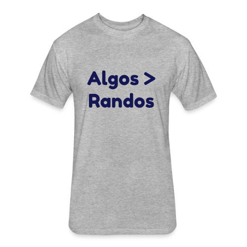 Algos  Randos - Fitted Cotton/Poly T-Shirt by Next Level