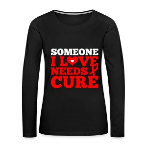 Fight HIV/AIDS - Women's Premium Long Sleeve T-Shirt