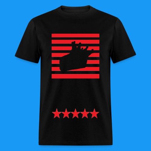 Stars n Stripes KC Logo - Men's T-Shirt