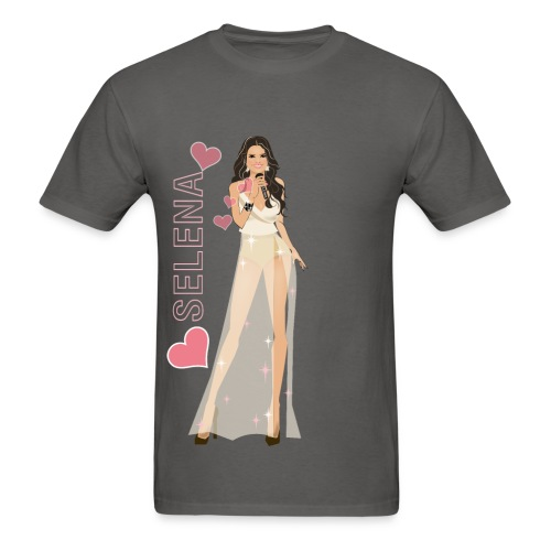 Selena Gomez Men's T-Shirt from South Seas Tees - Men's T-Shirt